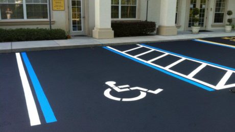 Striping Parking Lots Paving Services