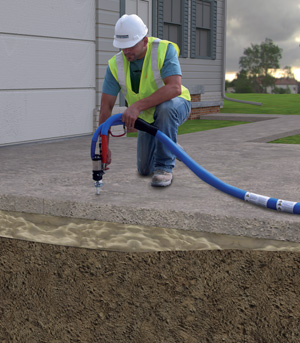 Concrete Slabjacking Poly level Foam ,Paving services Vancouver