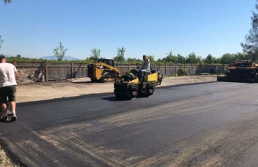 Asphalt Paving Service Project by Richmond Blacktop